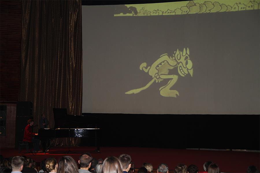 The first animation film was screened at Cinema house