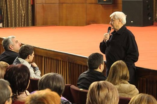 "The screening of the film ""Jivan Gasparyan"" in the Cinema house Grand hall"