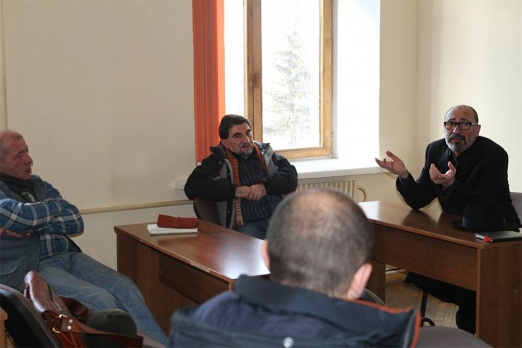 Establishing a film professionals' guild in Gyumri