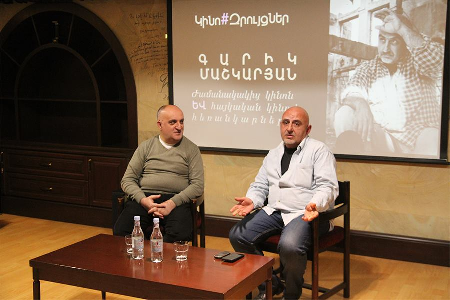 An interesting conversation with film director Garik Mashkaryan about cinema