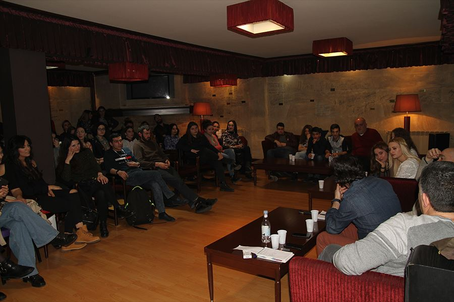 Around 100 creative youth attended to the project Cinema dialogue at Cinema house