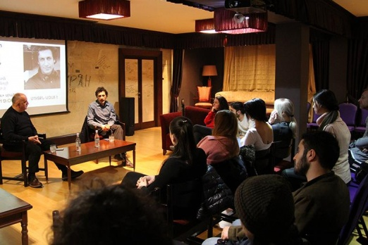 This time the guest of Cinema#Talks was French-Armenian film director Levon Minasyan
