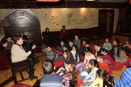 A new group of wonderful children and the world of Hovhannes Tumanyan