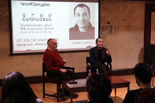 Film director Aram Shahbazyan talked about developing prospects of Armenian cinema