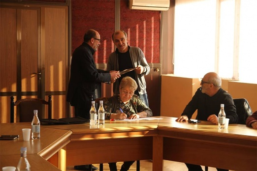 The Board members of the Union of Cinematographers of Armenia congratulated Edgar Baghdasaryan on his birthday