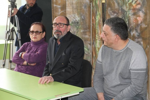 The opening of Armenian Union of Film professionals in Vanadzor
