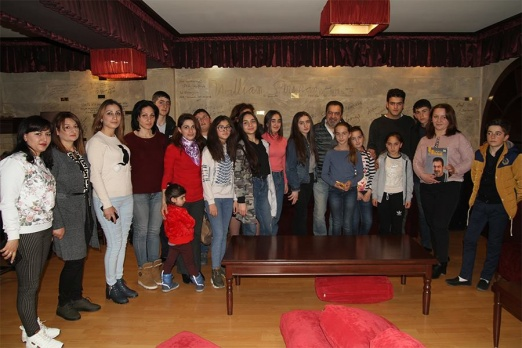 The schoolchildren of Karvachar visited Cinema house