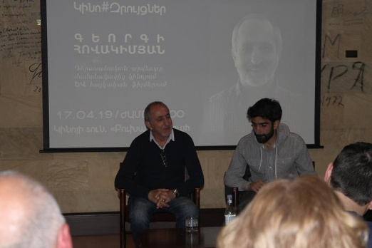 The guest of Cinema#Talks was Georgi Hovakimyan