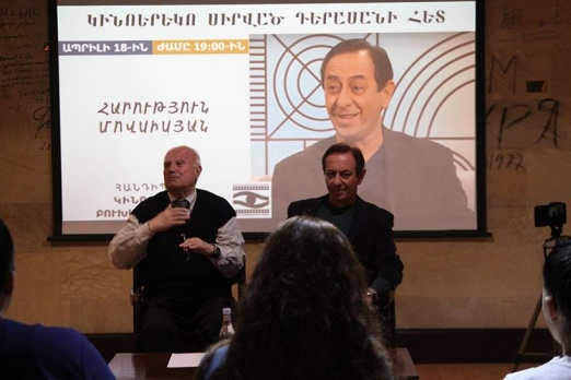 Harutyun Movsisyan talked about cinema, theater, his way as an actor