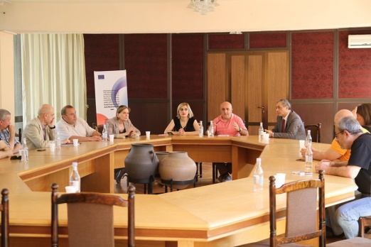 New development of cooperation: a meeting with the Script writers' Guild members