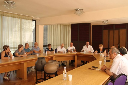 During the Board meeting of Armenian Union of Film professionals